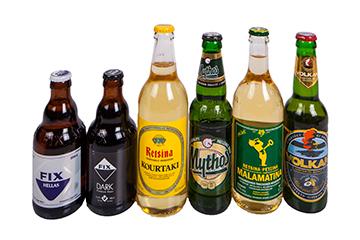 Retsina en bier