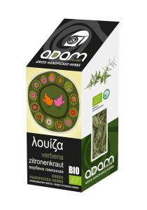 Adam Herbs citroen kruid, louiza, BIO, 15g
