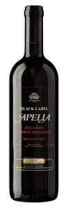 Apelia Black label imiglykos rood 375ml