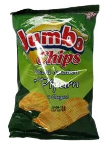 Jumbo waves oregano chips